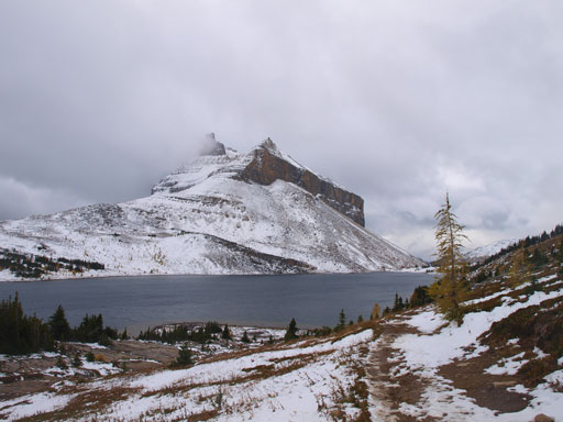 Redoubt Mountain and Ptarmigan Lake