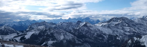 Familiar peaks in Kananaskis including Mount Lougheed
