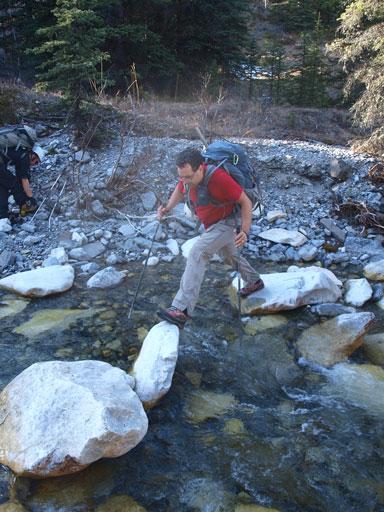 Interesting creek crossings.