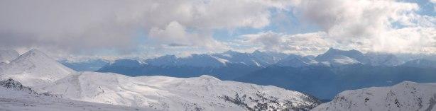 Peaks in Trident Range