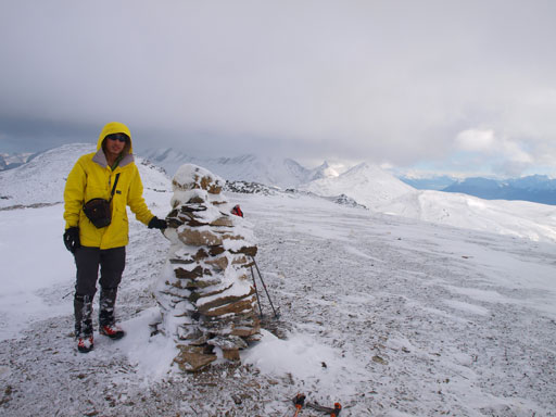 Me on the summit of Mount Pattison