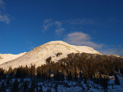 Emigrants Mountain from our camp