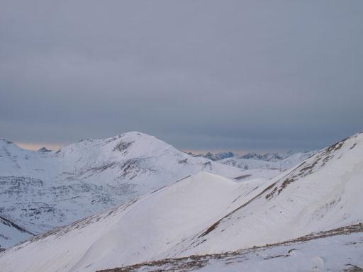 Higher up, looking towards Mount Aberhart