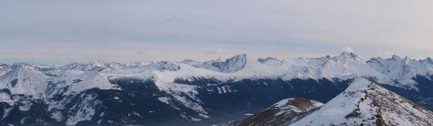 Many, many more front range peaks. Opal Peak right of center.