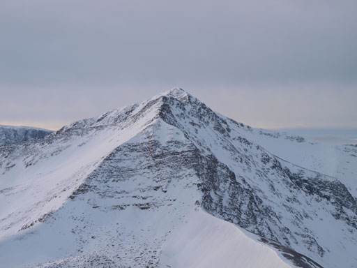 """This higher neighbour is unofficially named """"Trowel Peak"""" by bivouac.com"""