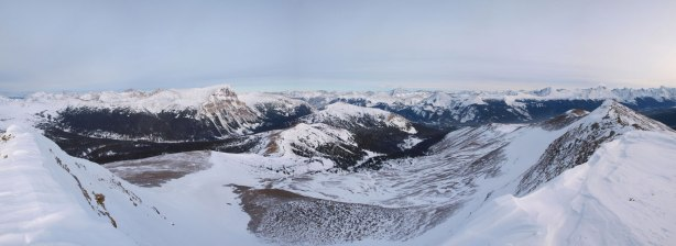 Panorama from the summit again.