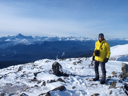 Me on the summit (my 100th in this year)
