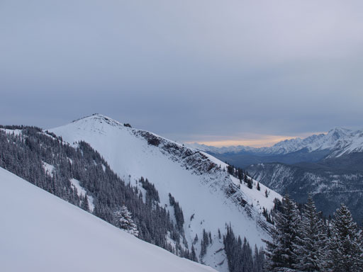 Down the slopes now, looking at another outlier