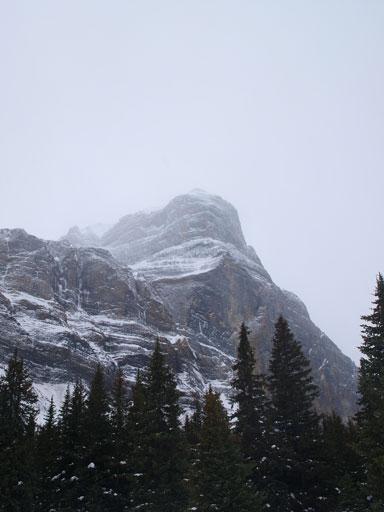 Cascade Rock looks impressive