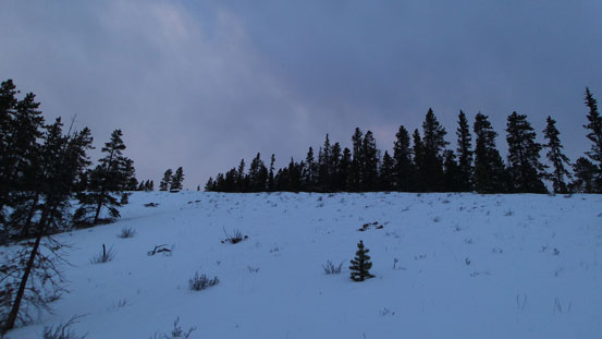 Open slopes like this provide easy travel. (Be cautious with avalanche potential if it's loaded though).