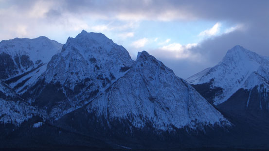 Rhine Peak and Elbe Peak (peaks on Ex Coelis)