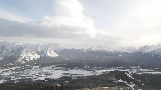 The North Saskatchewan River valley. Ex Coelis on the left.