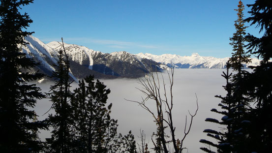 Gorgeous inversion view