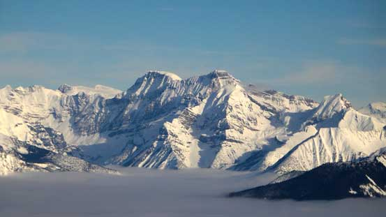 The massive Mt. Mummery