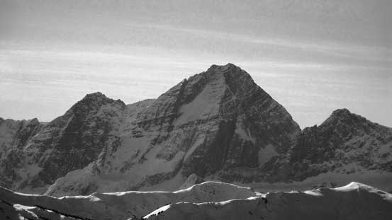 This is the Roger's Pass classic - Mt. Sir Donald