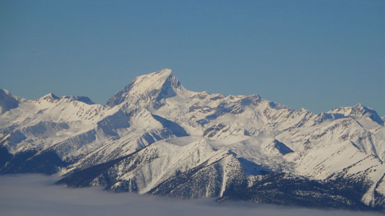 Mt. Sir Sanford is the highest in Selkirks