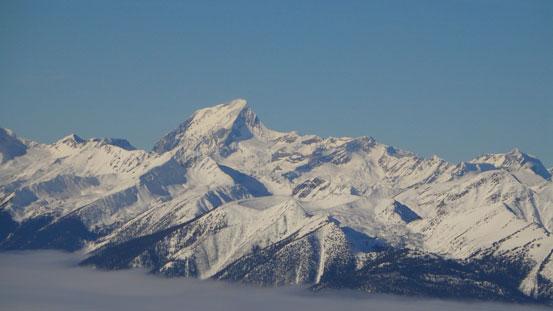 Mt. Sir Sanford is the highest in Selkirks