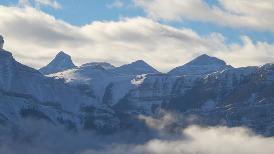Wind Mountain and Mt. Lougheed