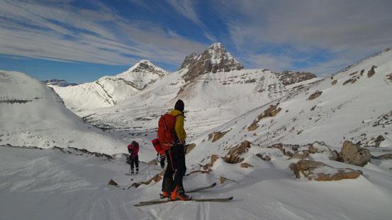 Raff with Ptarmigan Peak behind