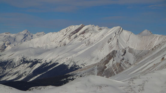Cyclone Mountain. Looks doable even in winter..