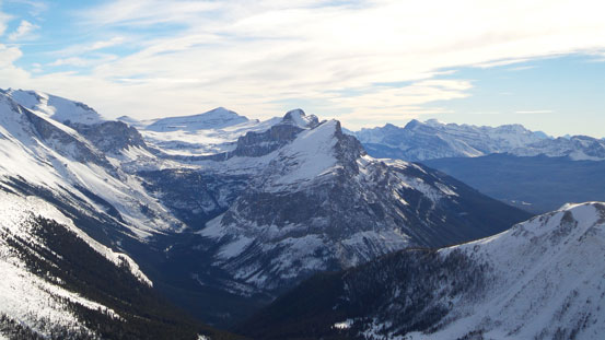 Bulwark Peak at center