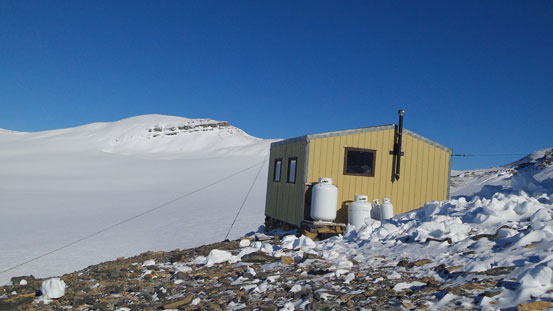 And then, here's Scott Duncan Hut
