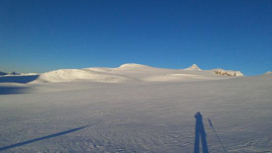 Crossing Waputik Icefield