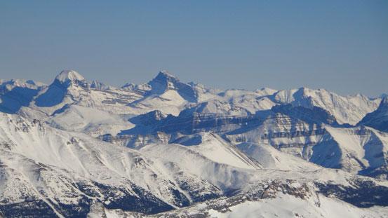 Mt. Douglas and Mt. St. Bride