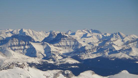 Bonnet Peak in the distance