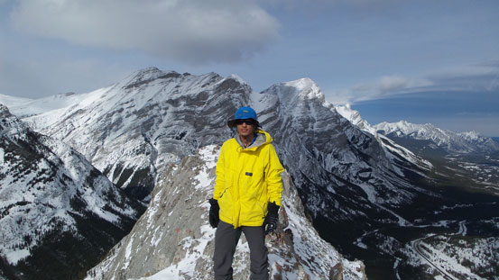 Me on the summit of Spoon Needle