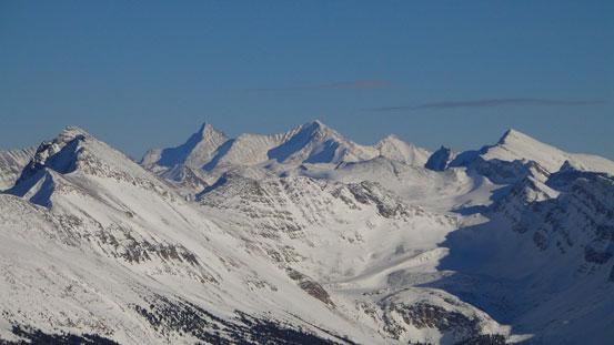 Trident Range - Majestic Mountain et al.