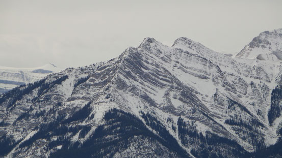The twin summits of Mt. Ernest Ross