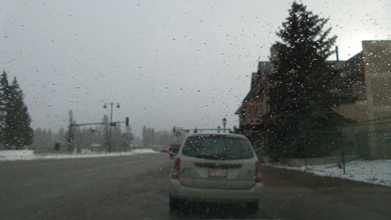 And, this was the weather in Jasper....