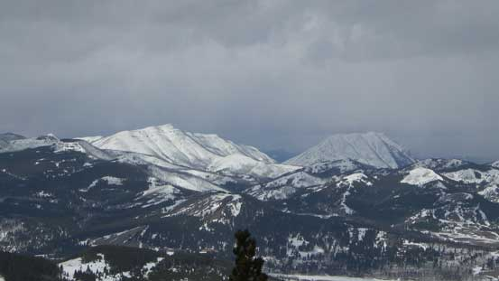 Hillcrest Mountain and Turtle Mountain