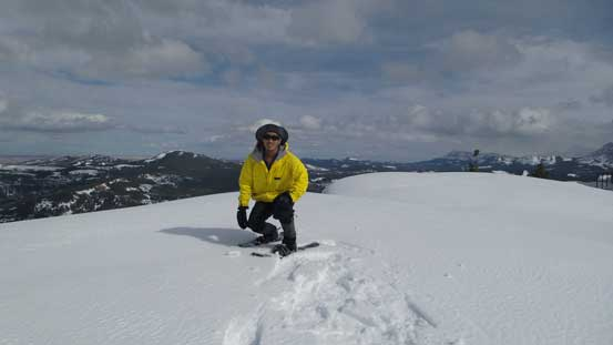 Me on the summit