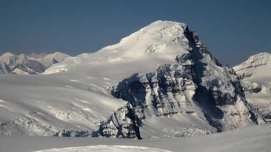 Mt. Columbia the giant
