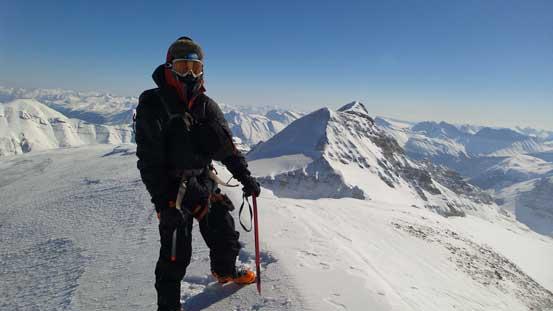 Ben on the summit