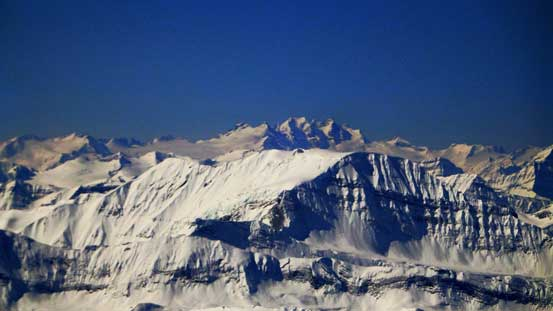 Adament Mountain is another giant in the Selkirks