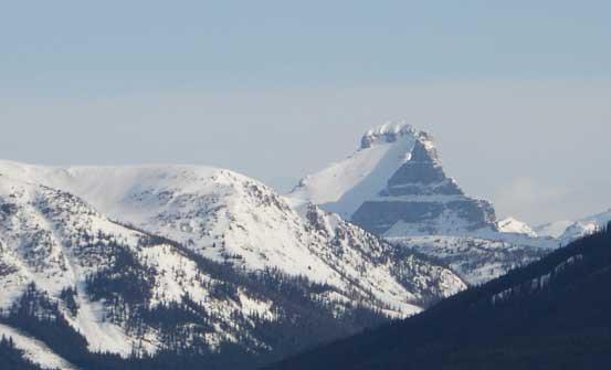 Molar Mountain looks pretty striking