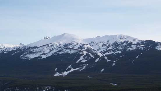 Whitehorn Mountain across Bow Valley