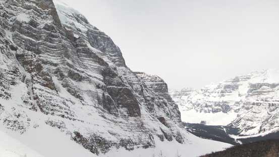 Impressive North Face of Temple