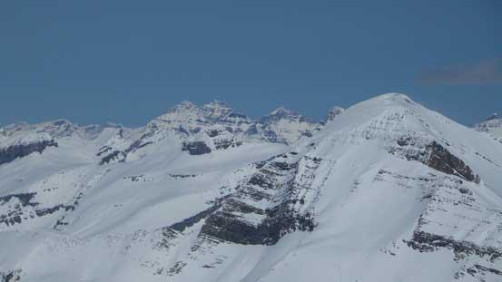 Murchison rises behind Mt. Baker