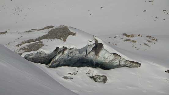 Impressive ice cave