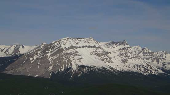 "Mount Armstrong is one of the few ""Nugara scrambles"" in this area"
