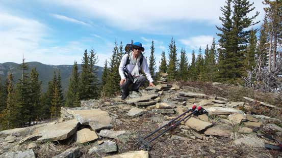 Me on the summit of Missinglink Mountain