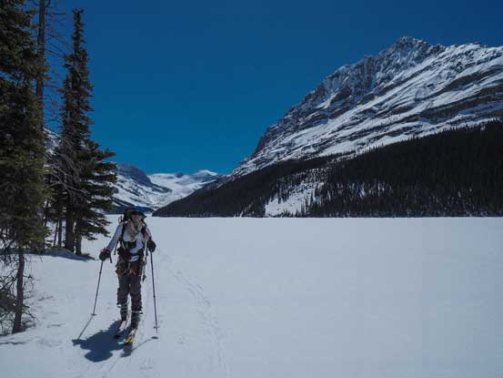 Me finishing the lake slog. Photo by Vern