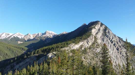 The upper ridge of Ernest Ross