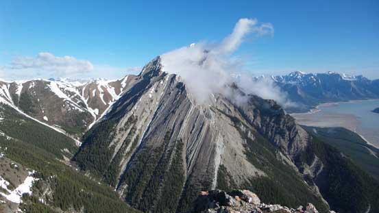 Elliot Peak from the first summit