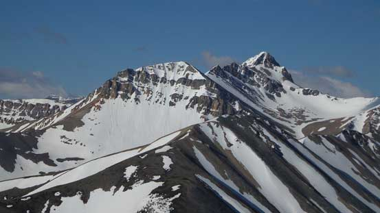 Summit of Whirlpool Ridge