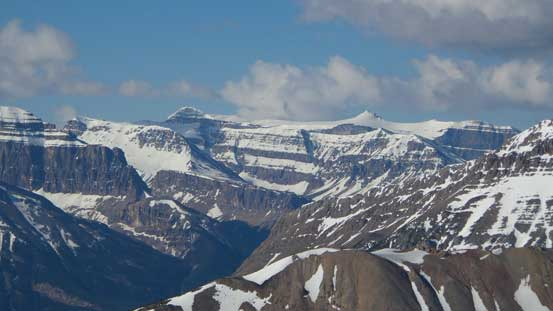 Some high peaks looking towards Banff Park boundary.